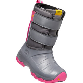 Keen Lumi II WP Boots Youth steel grey/pink peacock